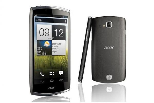 Первый взгляд на новый смартфон Acer CloudMobile