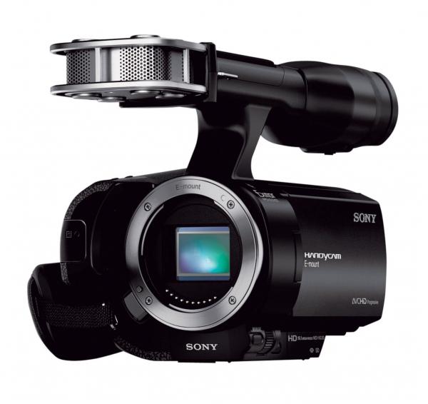 NEX-VG20E. Full HD-видеокамера со сменным объективом