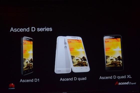 "MWC 2012: Huawei анонсировала смартфоны линейки ""Diamond""  - Ascend D"