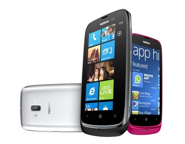 MWC 2012: Nokia анонсировала самый доступный смартфон на Windows Phone 7.5  - Nokia Lumia 610