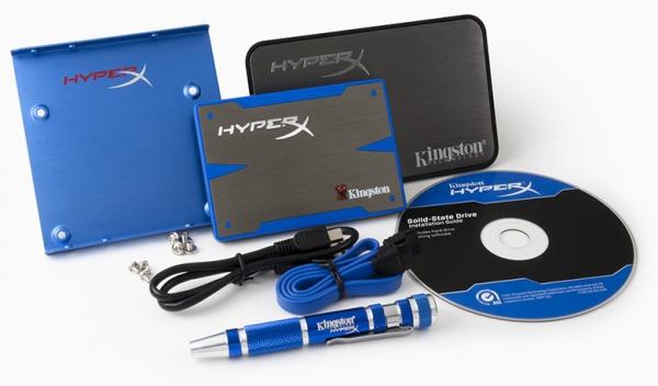 Твердотельные накопители HyperX SSD компании Kingston