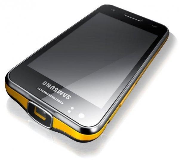 Смартфон Samsung GALAXY Beam со встроенным проектором