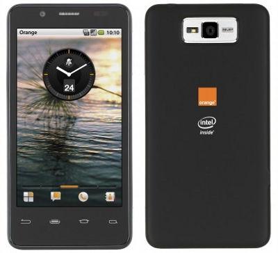 MWC 2012: первый в Европе смартфон на базе технологий Intel