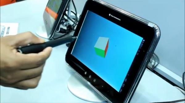 Texas Instruments представила ультразвуковой стилус для управления в трех измерениях