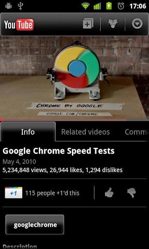 Обновление YouTube для Android