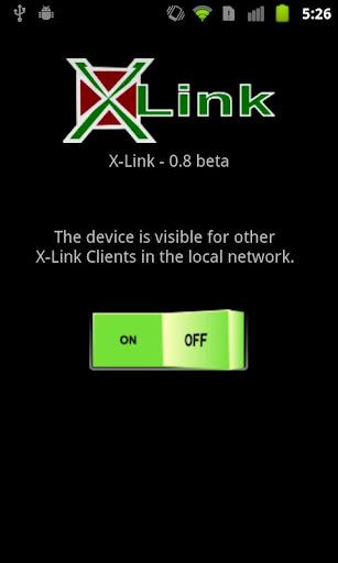 X-Link - программа для передачи файлов между Android и ПК по WiFi