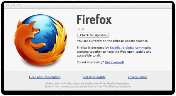 Новая версия Firefox 11 доступна для загрузки