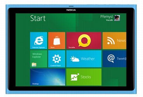 Глава дизайнеров  Nokia подтвердил, что компания работает над планшетом под Windows 8