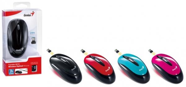 Беспроводная оптическая мышь Genius Traveler 6010