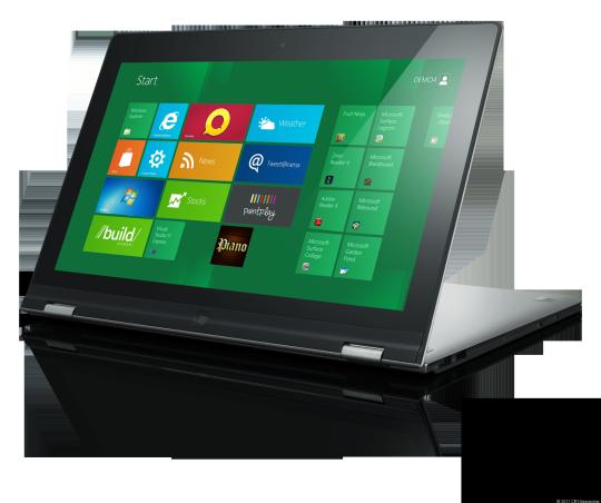 Первый планшет на Windows 8 будет выпущен компанией Lenovo