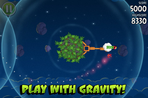Angry Birds Space приземлились!