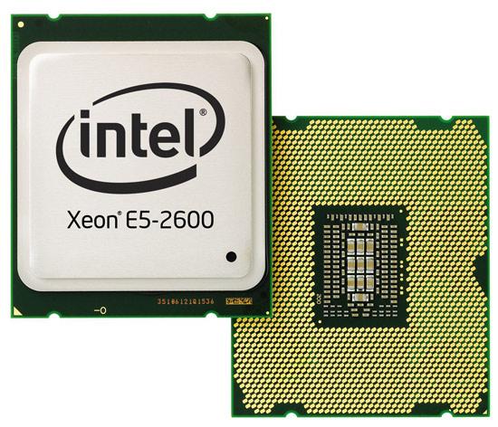Новое семейство серверных процессоров Intel Xeon E5-2600 – в Украине