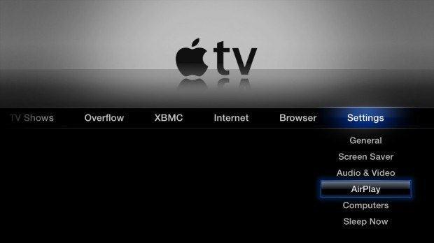 Подключение The New iPad к телевизору при помощи Apple TV