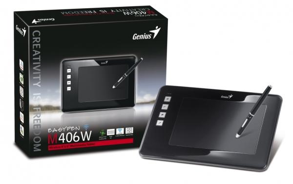 Беспроводной графический планшет Genius EasyPen M406W