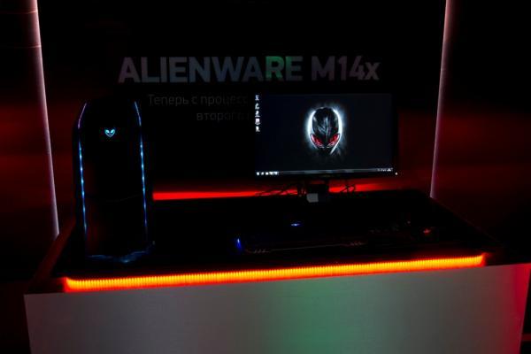 Dell презентует геймерскую зону Alienware в Украине