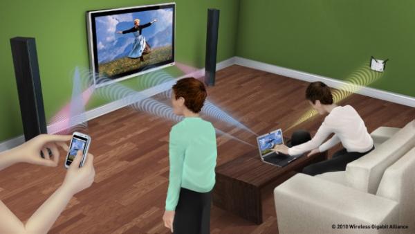 WiGig от Panasonic - перспективная замена Wi-Fi для мобильных устройств