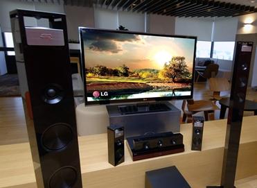 Новые системы домашнего кинотеатра LG взрывают мир домашних развлечений