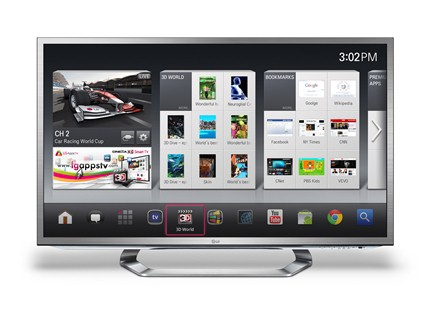 CES 2012: LG телевизоры с поддержкой Google TV