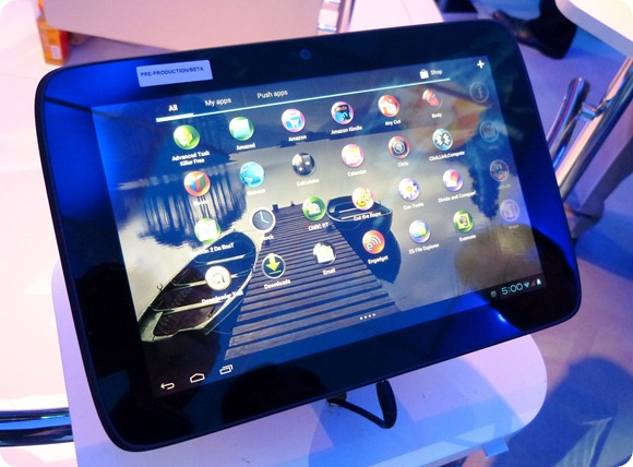CES 2012: Lenovo Ideatab K2110 - первый Android-планшет на процессоре Intel Medfield