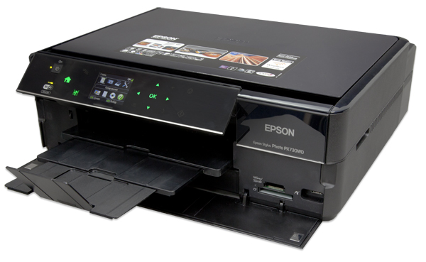 Epson Stylus Photo PX730WD – все в одном