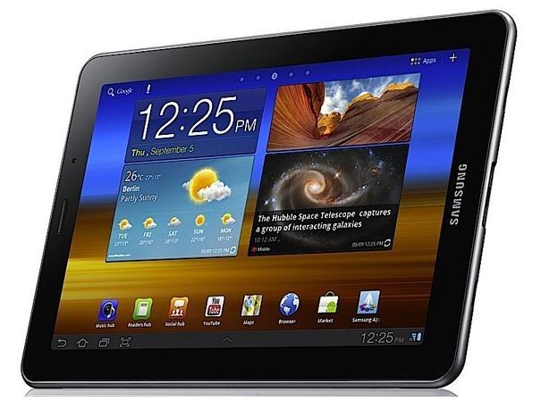 Выход Samsung Galaxy Tab 2 отложен до конца апреля