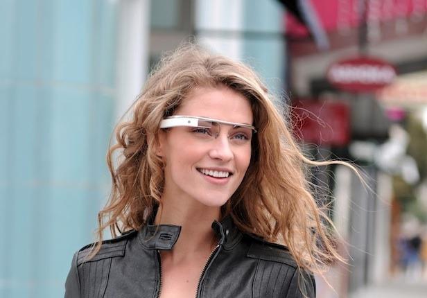 Google Project Glass - тестирование очков дополненной реальности