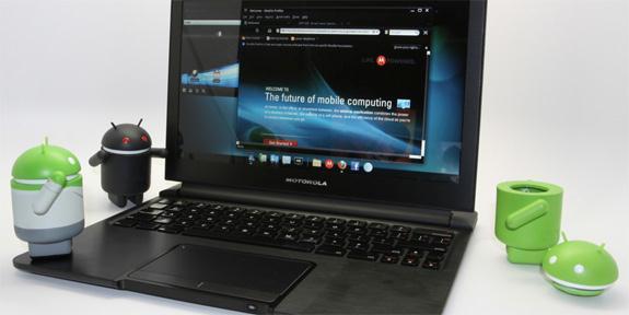 Motorola Webtop 3.0 - из Android-фона в ноутбук?