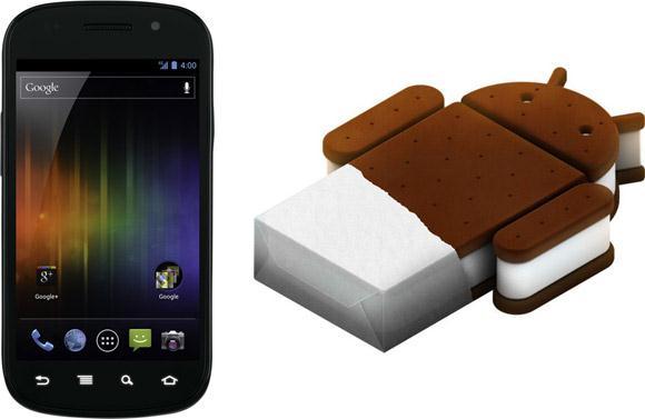 Ice Cream Sandwich: официальное обновление для Nexus S 4G