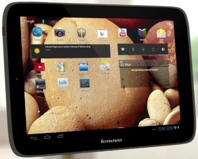 В Lenovo рассказали о новом IdeaTab