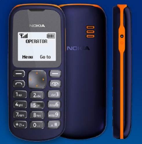 Nokia 103 - самый доступный телефон от Nokia