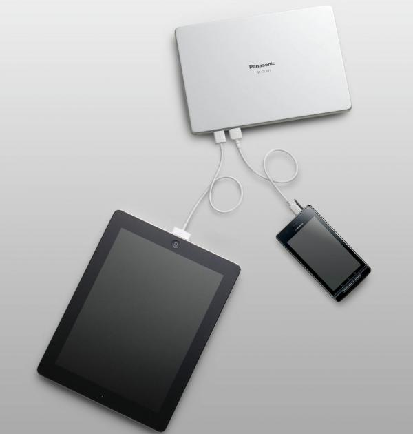 Восемь новых мобильных USB-зарядок от Panasonic