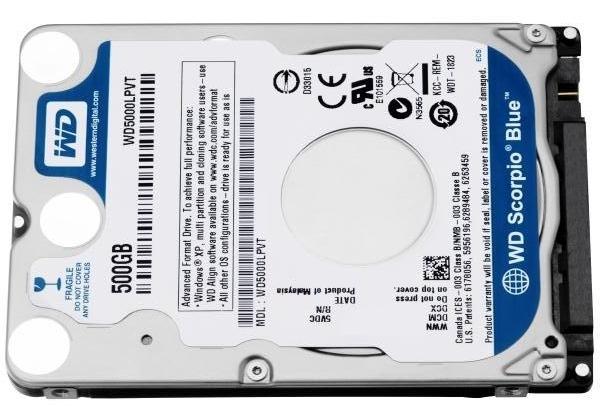 Новые жесткие диски – специально для ультрабуков