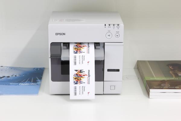 Новый струйный принтер для печати этикеток