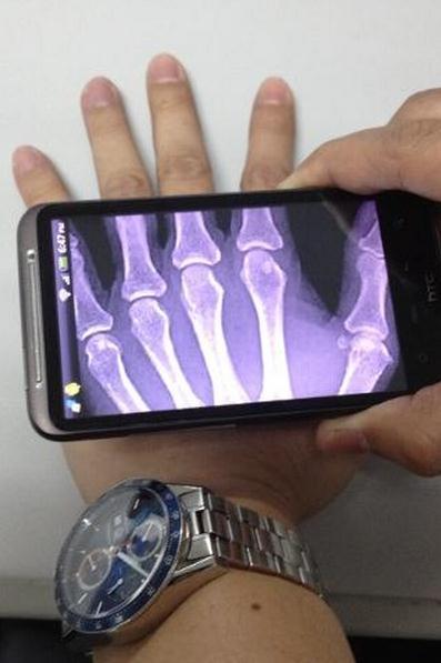 Специальный чип позволяет смартфонам видеть сквозь стены и одежду