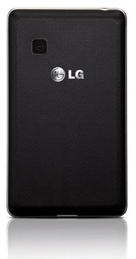 Стильный сенсорный телефон на две SIM-карты LG T370