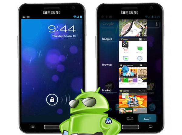 Samsung огласил обновление Android 4.0 для США