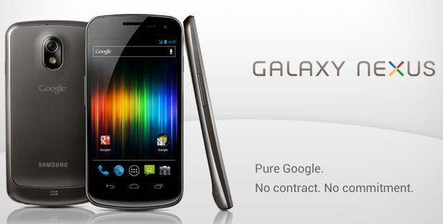 Разблокированный Galaxy Nexus: старт продаж в Google Play