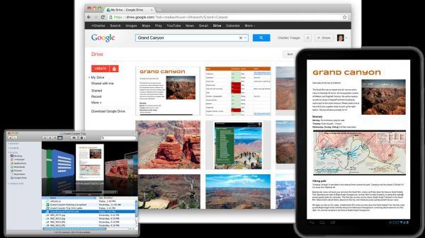 Официальный запуск Google Drive