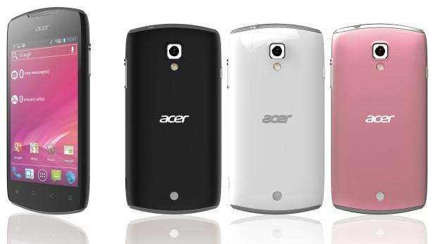 Acer Liquid Glow: стильный смартфон на базе Android 4.0. Старт продаж и цена