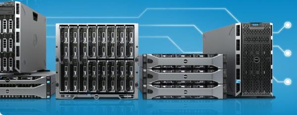 Серверы Dell PowerEdge 12-го поколения в решениях Dell vStart