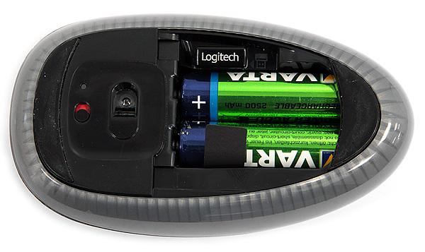 Logitech Touch Mouse M600. Без проводов и кнопок