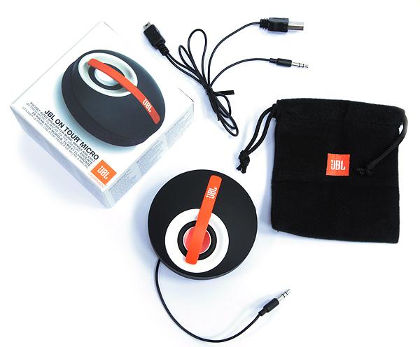 Миниатюрная и громкая аудиосистема для пикников JBL On Tour Micro