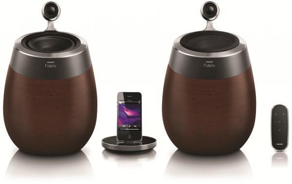 Philips Fidelio SoundSphere: уникальная акустика для iPhone, iPod и iPad