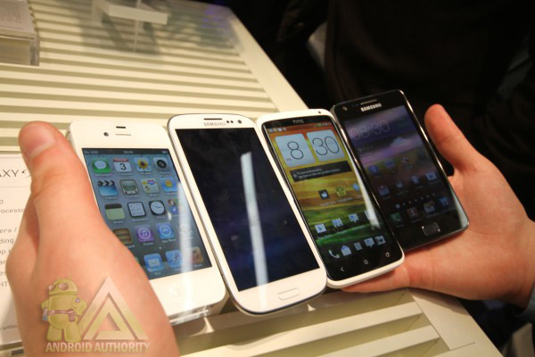 Samsung Galaxy S III и конкуренты