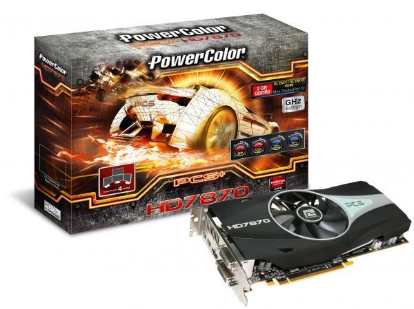 PowerColor представляет свою новую серию видеокарт HD7800