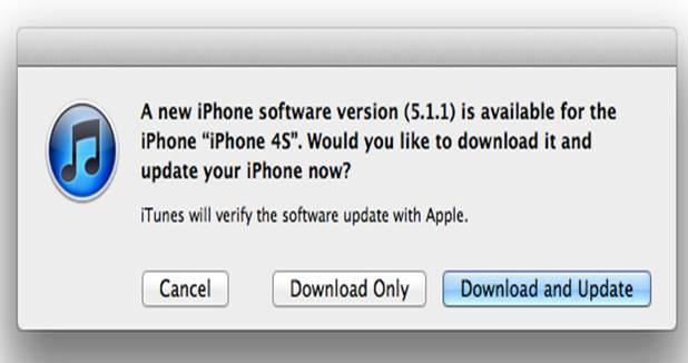 Apple выпустила обновление iOS 5.1.1 для iPhone, IPad и IPod