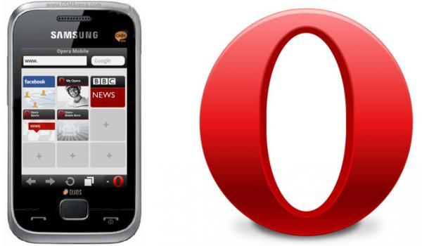 Opera для телефонов Samsung Bada
