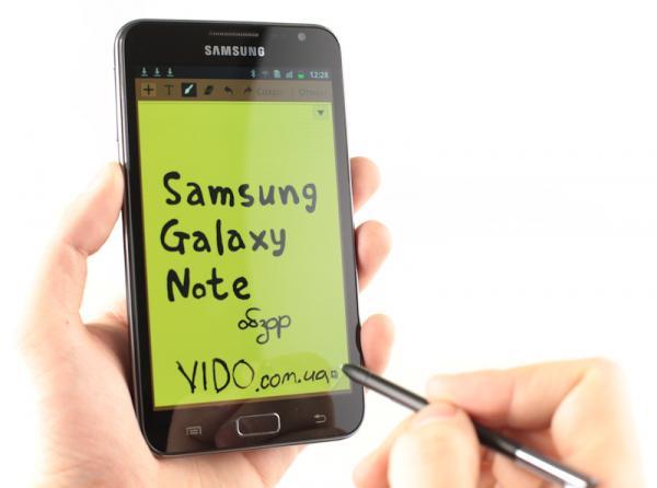 Samsung Galaxy Note получает обновление до Ice Cream Sandwich