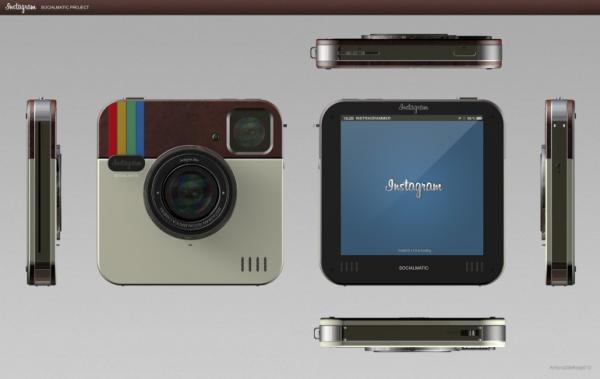 Как будет выглядеть фотокамера специально для Instagram?