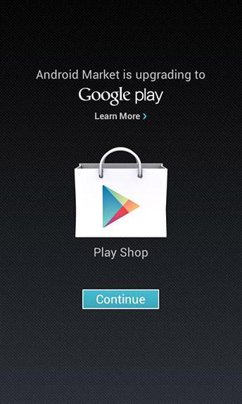 Новое обновление Google Play Store